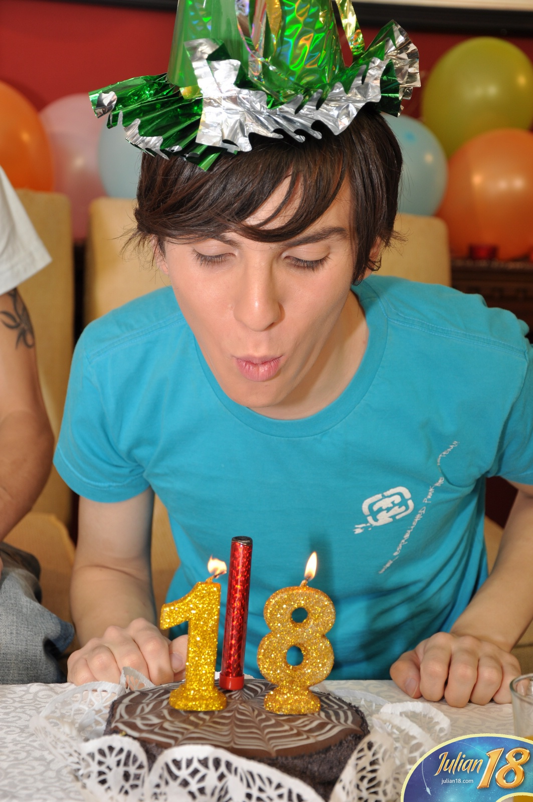 Gay boy birthday party