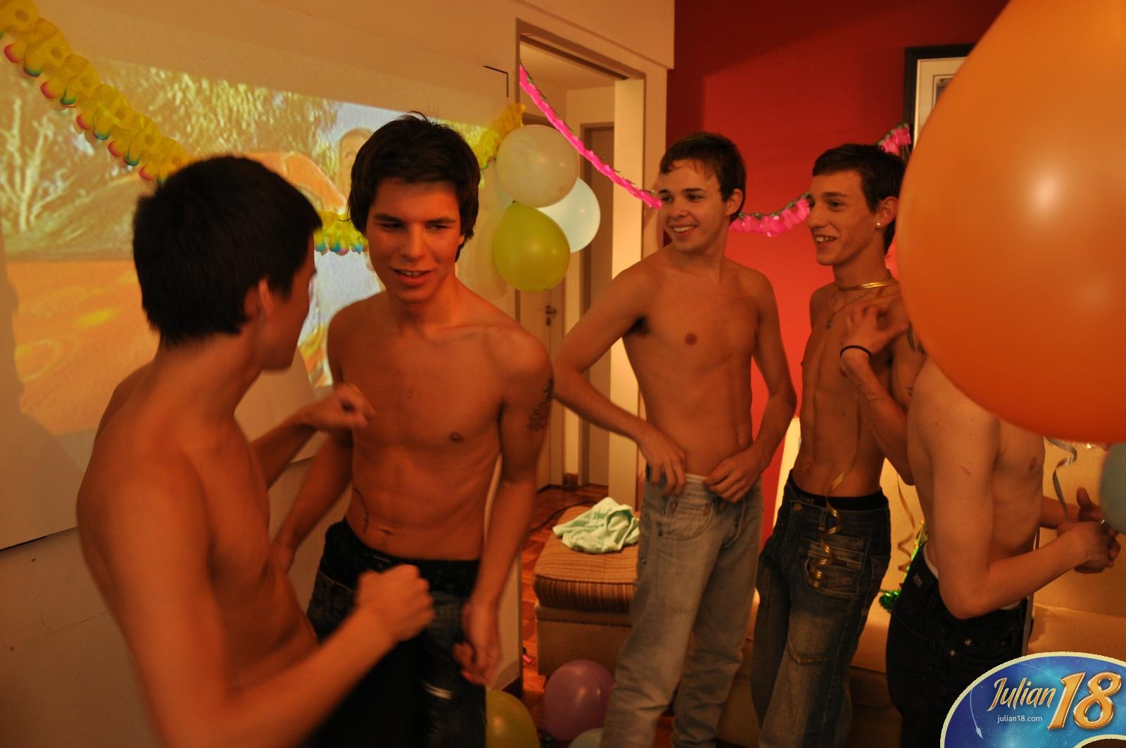 gay birthday party